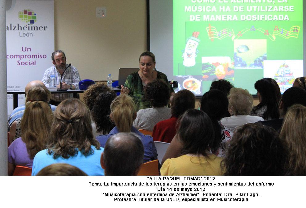 «Musicoterapia con enfermos de Alzheimer»