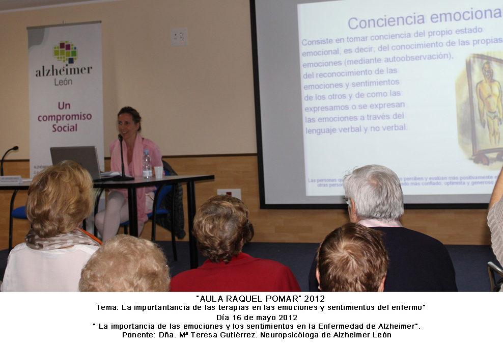 «La importancia de las emociones y sentimientos en la Enfermedad de Alzheimer»