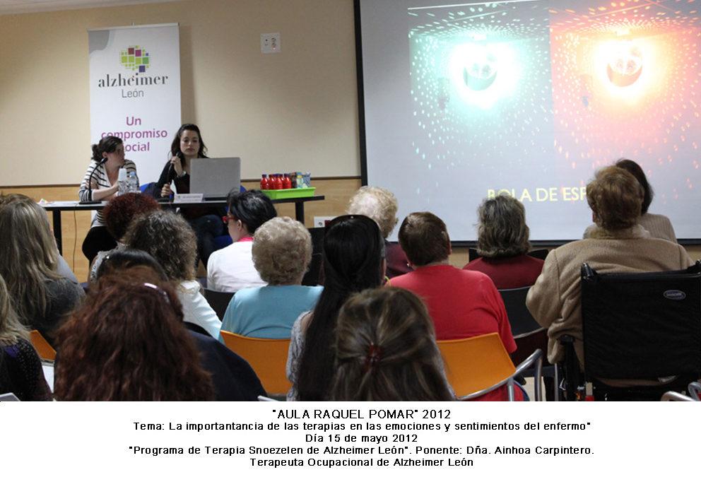 «Programa de Terapia Snoezelen de Alzheimer Leu00f3n»