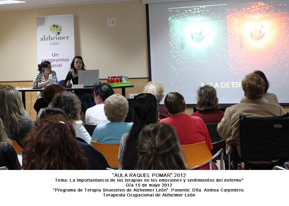 """Programa de Terapia Snoezelen de Alzheimer Leu00f3n"""