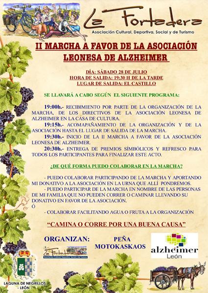 II MARCHA A FAVOR DE ALZHEIMER LEÓN