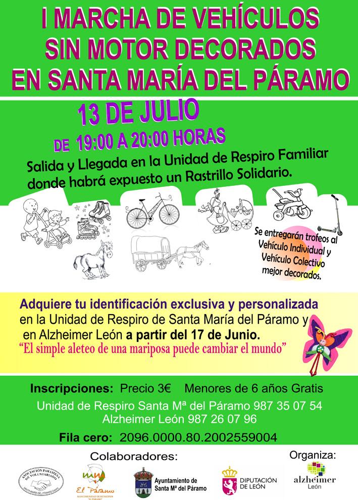 Carrera de Vehículos sin motor en Santa María del Páramo