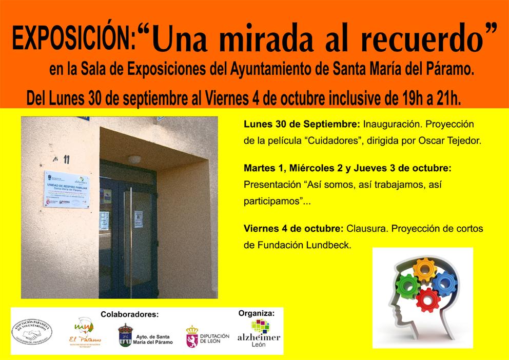 """Exposición """"Una Mirada al Recuerdo"""" en Santa María del Páramo"""