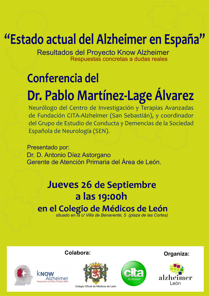 Conferencia del Dr. D. Pablo Martínez-Lage