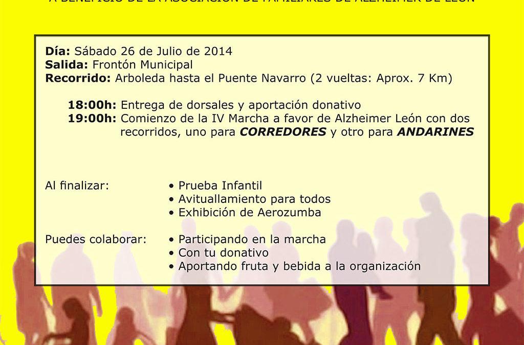 IV Marcha Alzheimer en Laguna de Negrillos