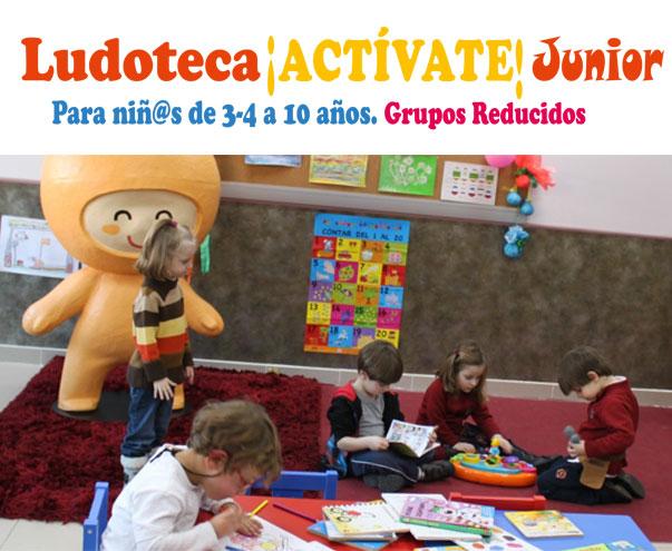 Ludoteca !ACTÍVATE! Junior Curso 2014/15