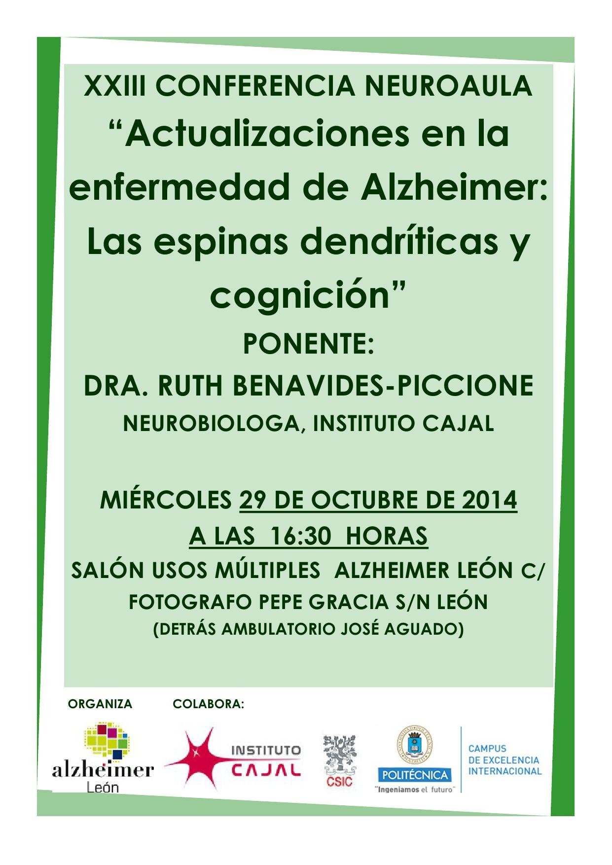 XXIII Conferencia Neuroaula