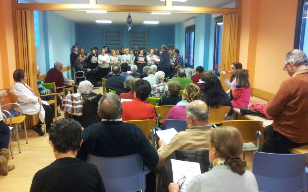 La música suena en la Unidad de Respiro de Santa María
