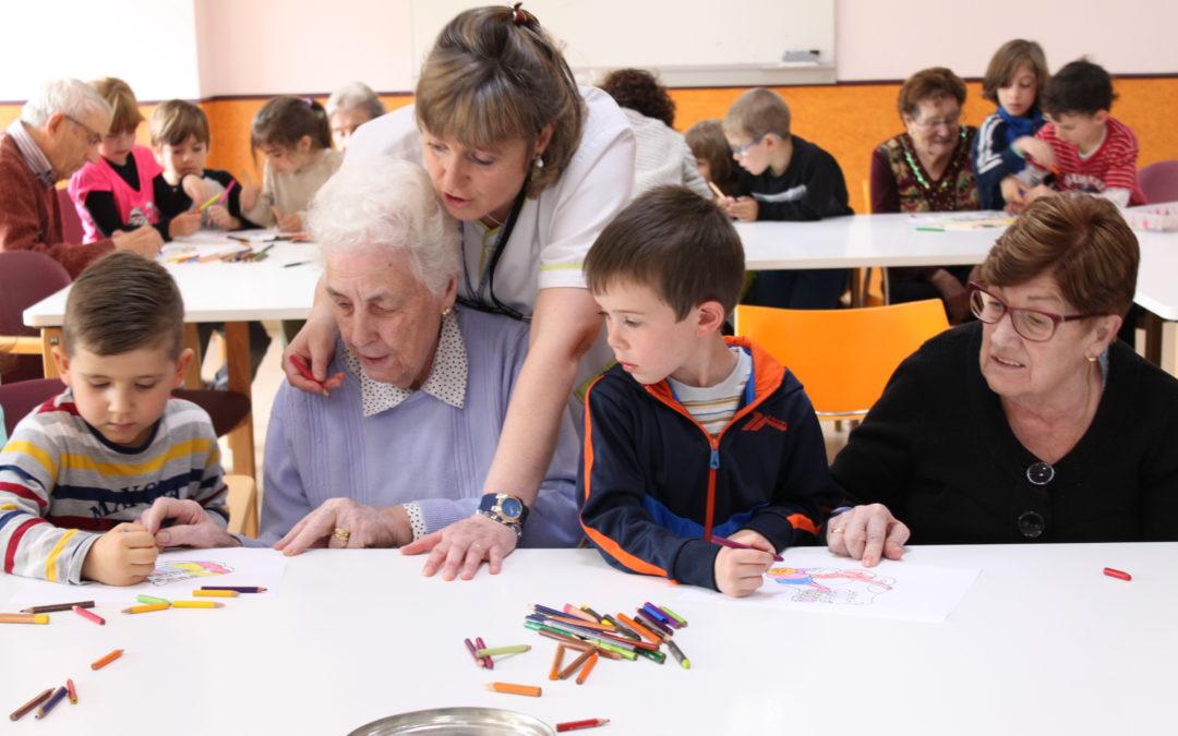 Programa Intergeneracional con nuestros peques del Luis Vives