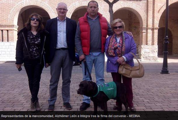 Terapia asistida con perros en Santa María del Páramo