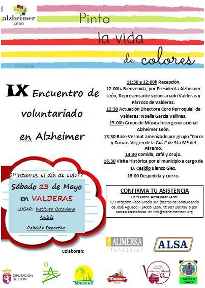 IX Encuentro de Voluntariado en Valderas