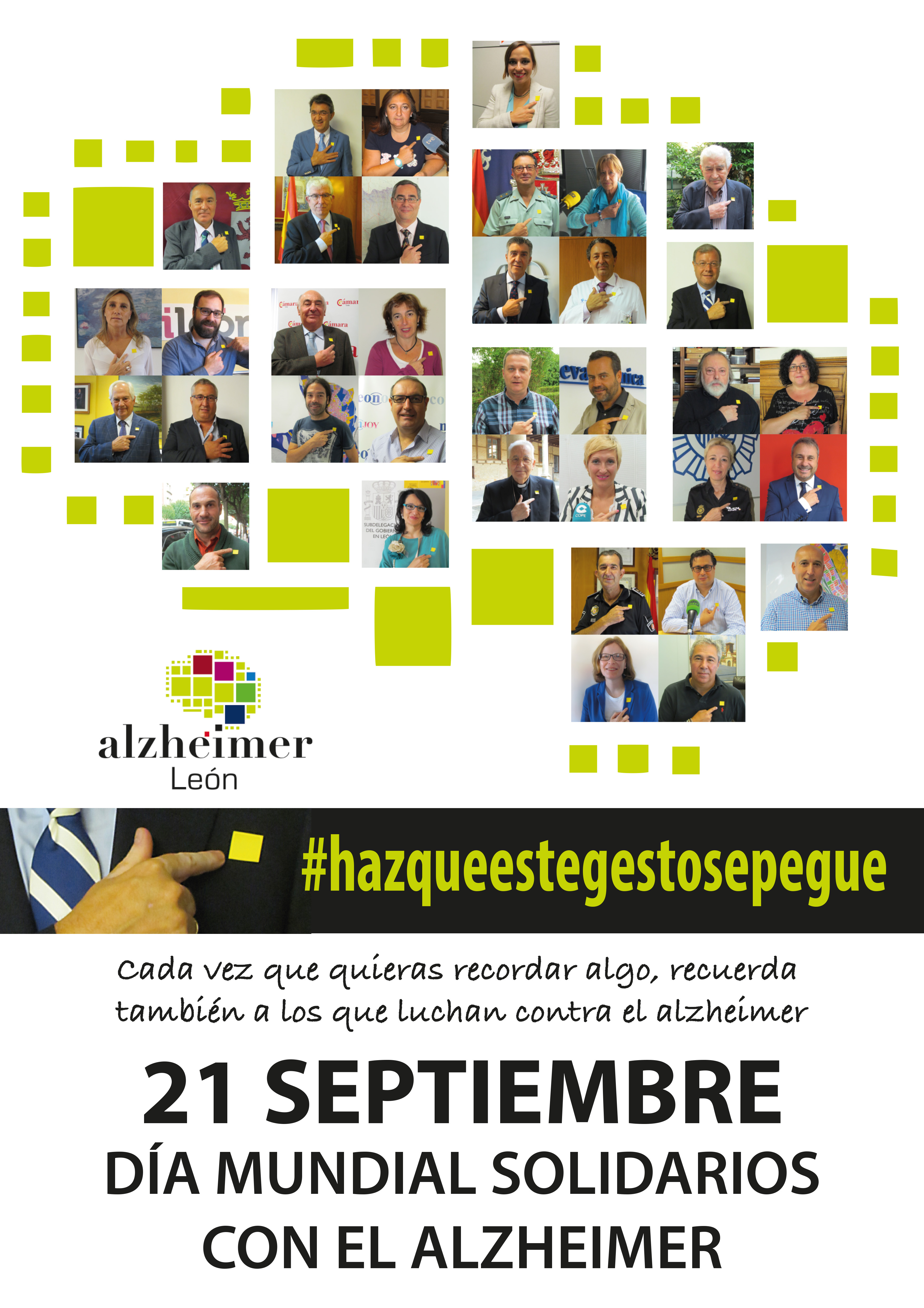 Gracias por sumaros a nuestros actos de conmemoración del Día Mundial del Alzheimer