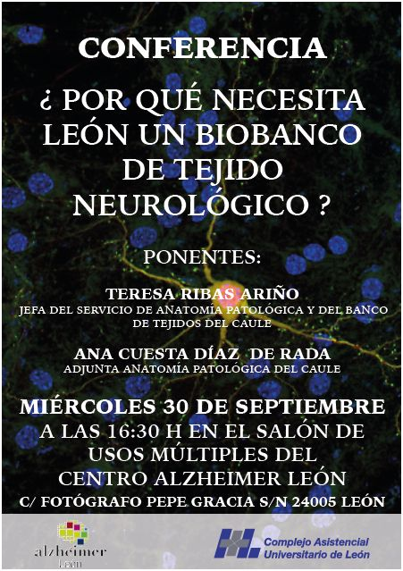 Conferencia sobre la donación de cerebros