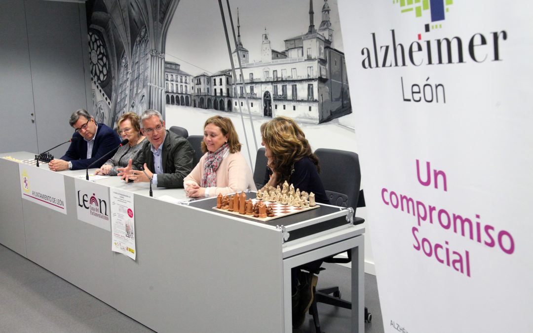 Alzheimer León celebra un Torneo de Ajedrez de la mano del Magistral