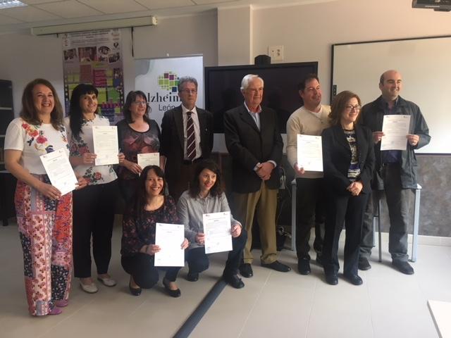 La Junta destina más de 127.000 euros en los programas de formación mixta de Asprona-León y Alzhéimer-León