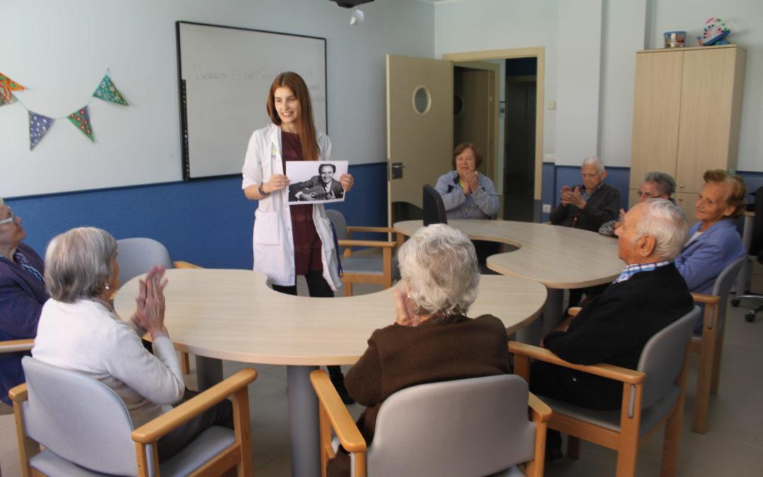 Alzheimer León muestra los resultados de un estudio sobre música y Alzheimer que ha presentado en Europa