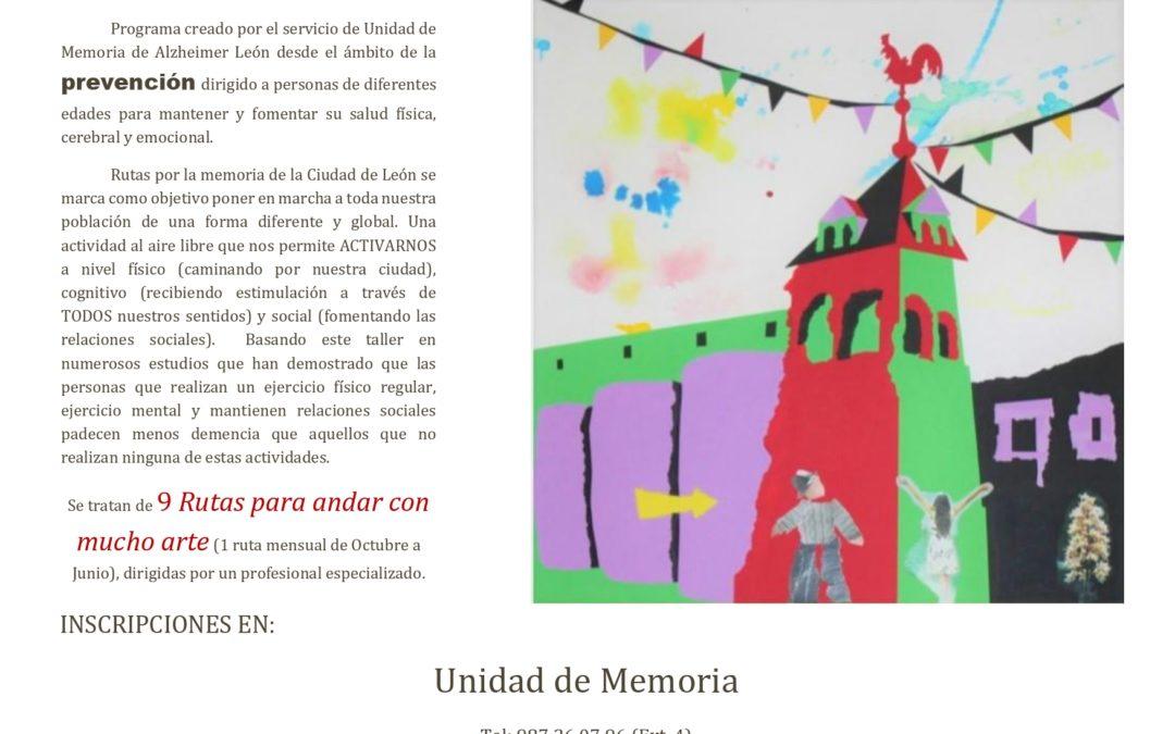 Únete a nuestras Rutas por la Memoria de la Ciudad de León