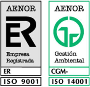 Sellos Aenor Alheimer León