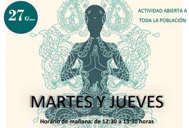 Vuelve el Yoga a Alzheimer León